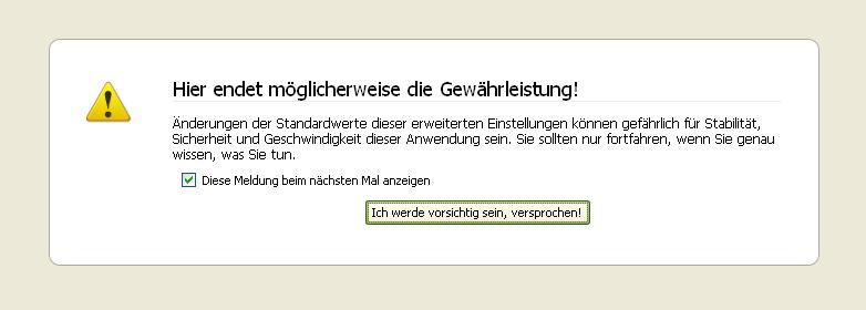 Sicher Surfen ohne RC4 Verschlüsselung (Firefox)