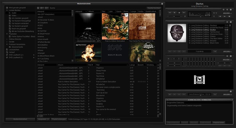 Dark Themes, Skins - Programme dunkel & elegant